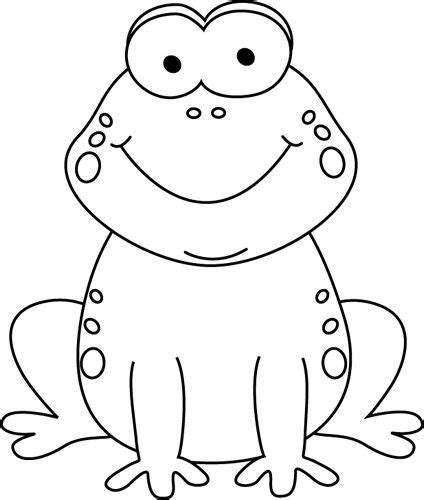 black and white clipart black and white frog clip march ideas