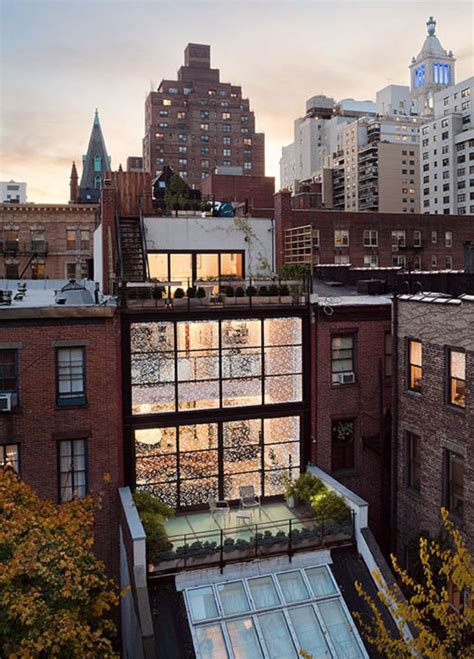 new york city appartment gorgeous gramercy park townhouse fuses history with modern