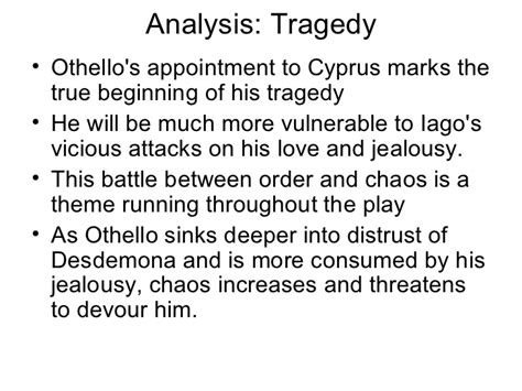 themes of the drama othello othello ppt scene by scene