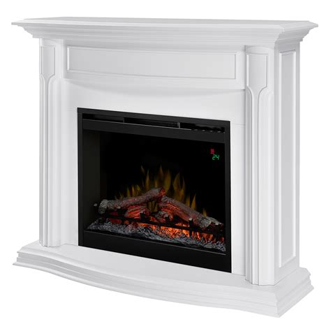 Electric Fireplace White Reg 999 00 799 99 You Save Xx Free Shipping Ships Delivered Wis 1 Year Direct Protect Extended