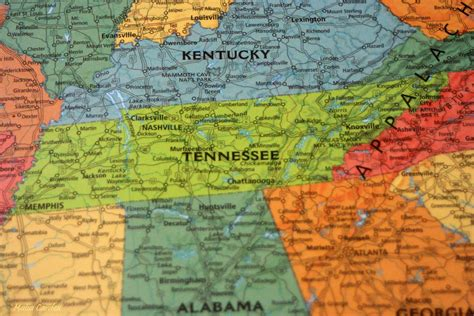 tennessee on map tennessee state name origin what does the name