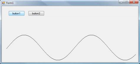a c oscilloscope display in windows forms