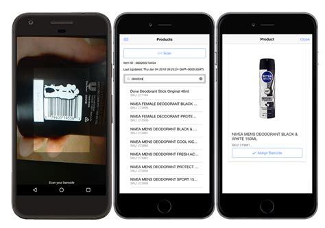 mobile inventory ionic app portfolio magento mobile inventory management