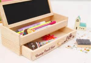 Tempat Pensil Pencil Pripara 1 new koera style layer pencil multifunctional wooden diy with small