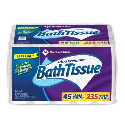 toilet paper bath tissue sams club sams club