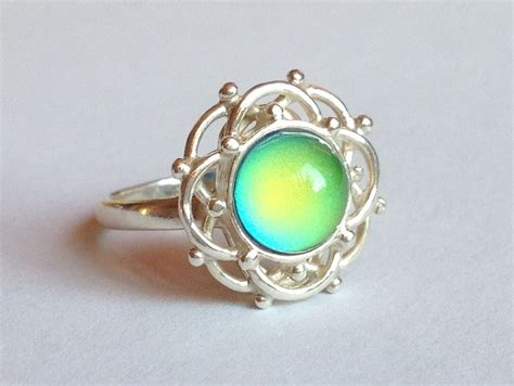 unique sterling silver mood rings