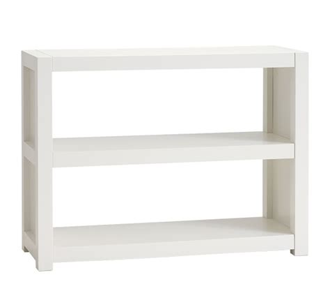 parsons 2 shelf bookcase pottery barn