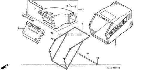 honda hrc216 parts honda hrc216k1 hxa lawn mower usa vin mzan 6100001 to