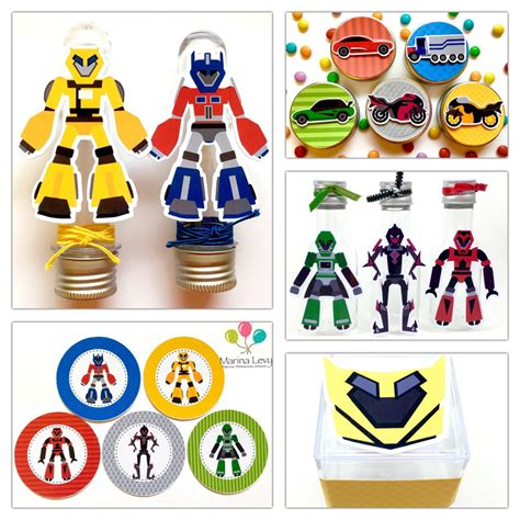 Termos 3d Transfomers Buble Bee kit festa premium 3d transformers marina festas elo7