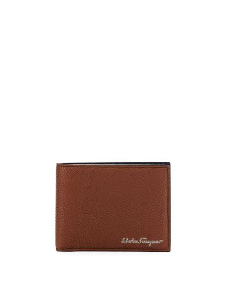Jual Dompet Salvatore Ferragamo Embossed Leather Bifold Brown Pria salvatore ferragamo firenze leather bi fold wallet brown