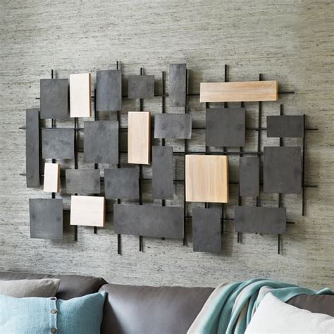 idea for wood metal mix decorations wall art designs amusing 10 wood and metal wall art