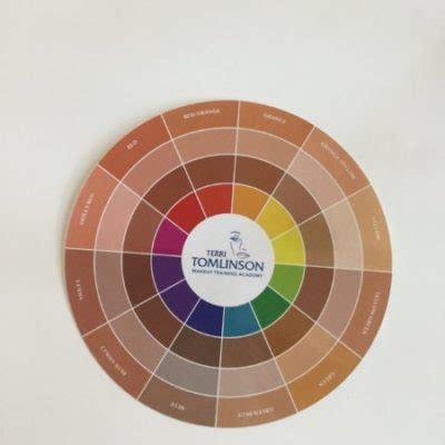 makeup color wheel color wheel for makeup artists flesh tone color wheel