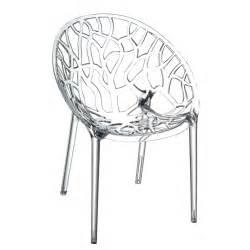 chaise design transparente en 34 mod 232 les l 233 gers et limpides