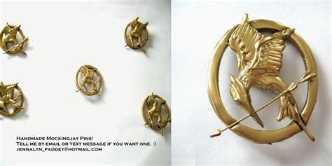 How To Make A Mockingjay Pin Out Of Paper - mockingjay pin rev by zeldagurl123 on deviantart
