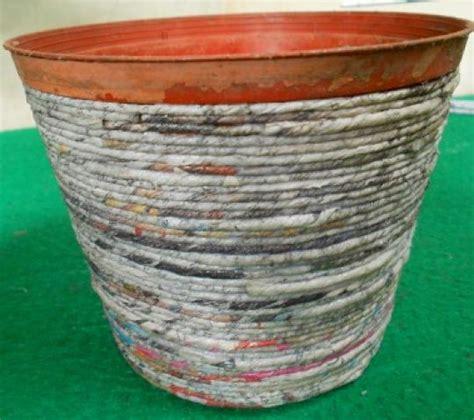cara membuat vas bunga dari kertas manila membuat vas bunga dari kertas koran tutorial lain lain