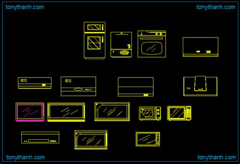 cad blocks kitchen appliances list of household electrical appliances and their indian