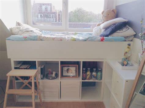 Ikea Kallax Bett by Wie Praktisch Einfach Das Bett 252 Ber Kallax Regale Ikea