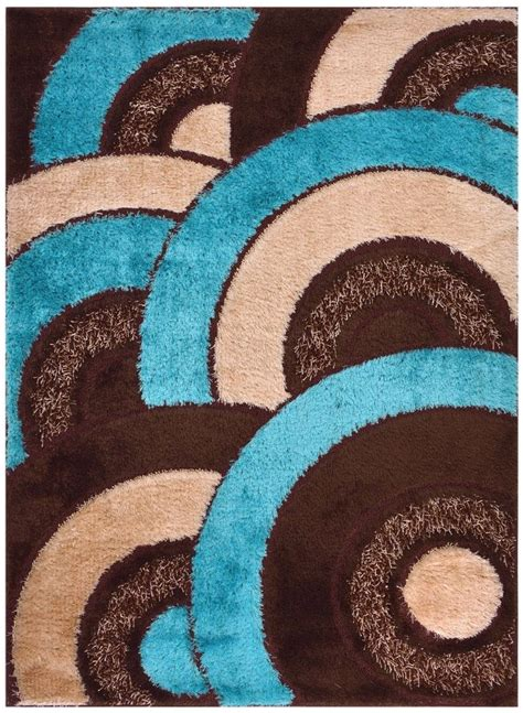 turquoise and brown rug details about blue shag area rugs shaggy rug area rug floor modern rug 3x5 3x7 4x6 5x7 7x10