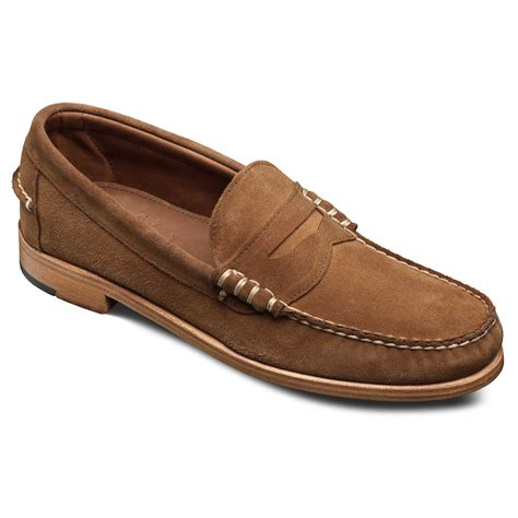 sea island slip on loafer casual shoes by allen edmonds