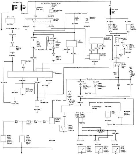 interesting toyota hilux light wiring diagram ideas