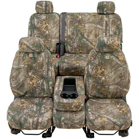 camo seat covers carhartt custom realtree camo seat covers covercraft