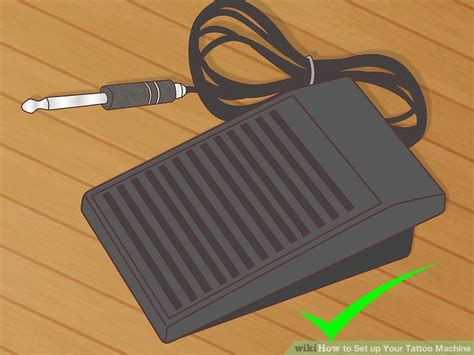 how to set up a tattoo machine how to set up your machine with pictures wikihow