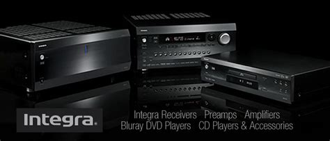 integra home theater equipment intelligent electronics