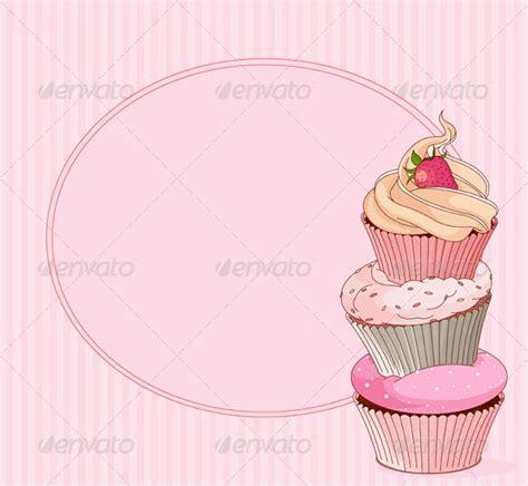 14 Cupcake Card Designs Templates Psd Ai Indesign Free Premium Templates Cupcake Powerpoint Template