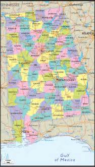 alabama map alabama map free large images