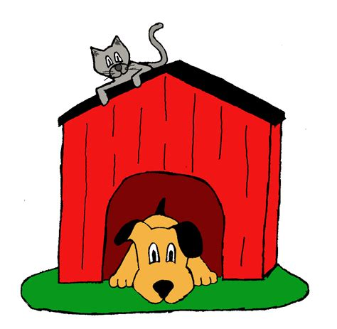 dogs inside the house inside the dog house clipart clipartxtras