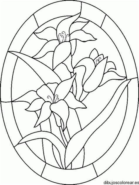 imagenes de mandalas en vitrofusion dibujo de un vitral con flores