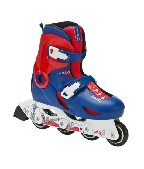 Play Roller Skates oxelo inline skates play 3 roller skating shoes by