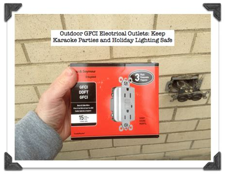 backyard outlet outdoor electrical receptical images frompo 1