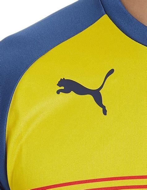 Jersey Grade Ori Pre Match Barcelona Yellow jersey arsenal pre match yellow 2014 2015 big match