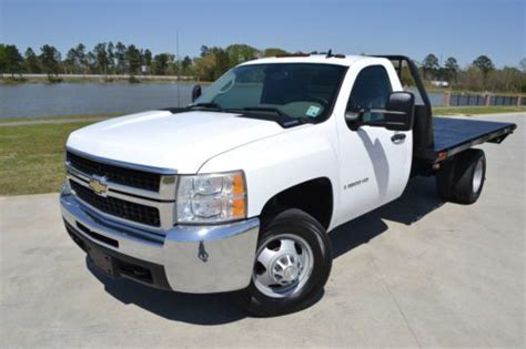 sell used 2008 chevrolet silverado 3500hd 12ft flatbed diesel in walker louisiana united