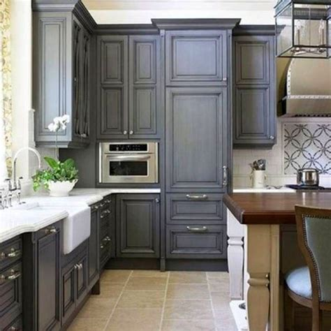 grey cabinets 17 sleek grey kitchen ideas modern interior design
