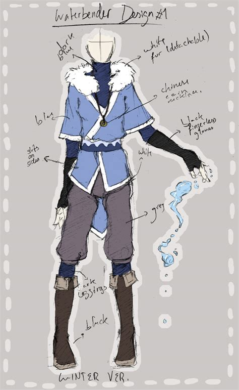 design nation clothes waterbender outfit design by pandatama on deviantart