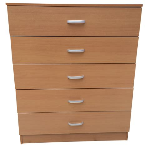 Beech Bedroom Drawers by Chest Of Drawers 5 Drawer Bedroom Furniture Black Beech