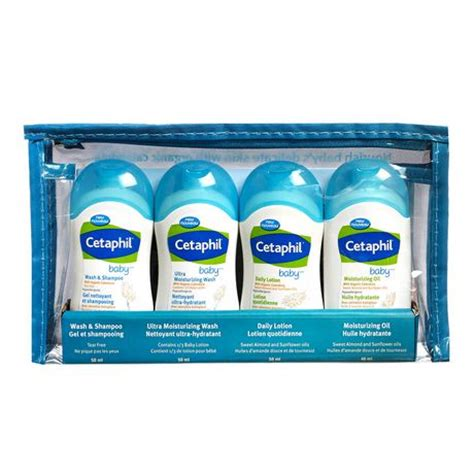 Cetaphil Travel Kit cetaphil baby trial travel pack walmart ca