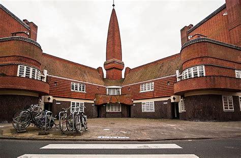 het schip amsterdamse school amsterdamse school architectuur gorgeus houses
