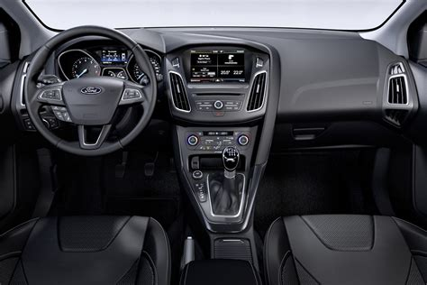 2015 Focus Interior by 2015 Ford Focus Facelift Revealed Updated Inside Evs