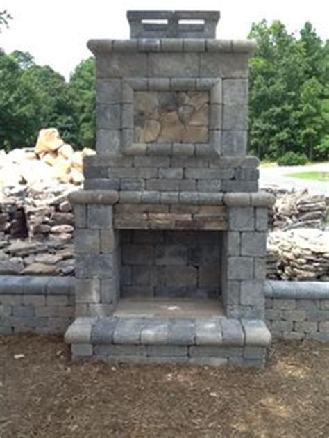 Outdoor Fireplace Kits For Sale by Pavestone Paver Patio Pit And Seat Walls With