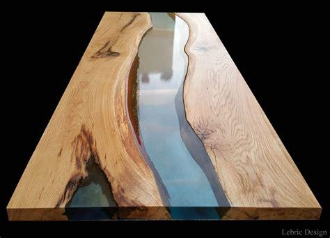 tavoli in resina tavolo in resina e legno danubio by antico trentino