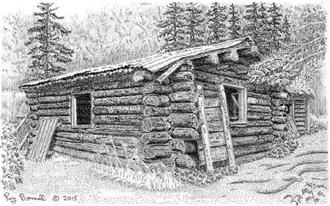 Red Barn Auto Cabin At Byers Lake Is A Reminder Of Alaska S Trapping