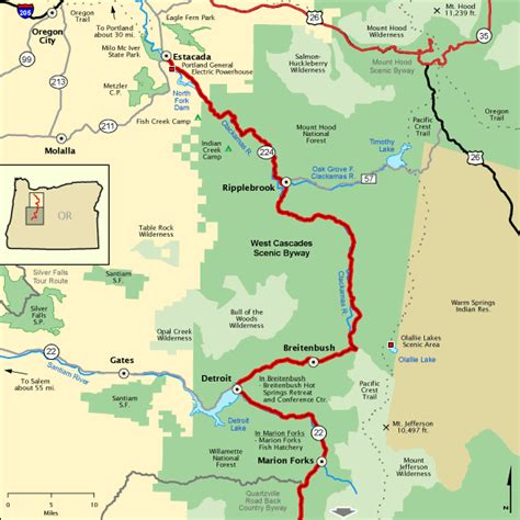northern section west cascades scenic byway northern section america s