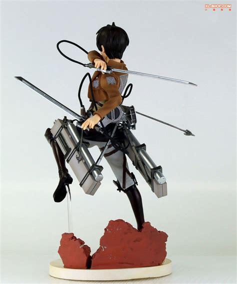 Furyu Attack On Titan Eren Figure Mikasa Figure Set furyu jamma prize attack on titan vertical manuevering special figure eren pvc figure