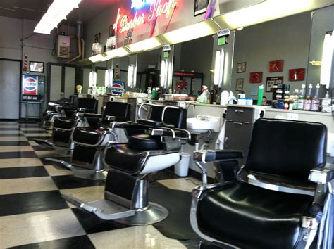Home Interior Design Themes by Market Heights Barber Shop Home