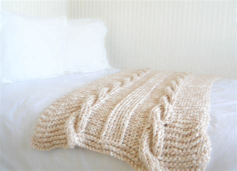 pattern for knitted afghan free cable knit afghan pattern easy in a stitch