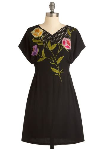 Bufet Dress flower buffet dress mod retro vintage dresses modcloth