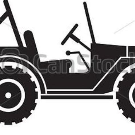 jeep silhouette army jeep silhouette clipart vector throughout willys jeep